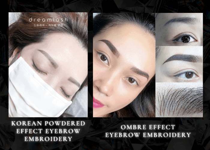 DL Types of Eyebrow Embroidery
