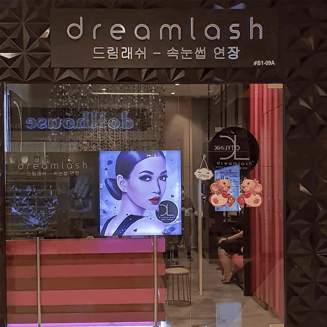 eyelash extension at citylink mall - Dreamlash